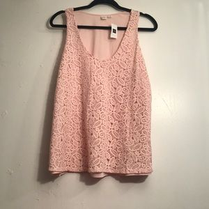 NWT GAP Womens Sleeveless Blouse Size Large